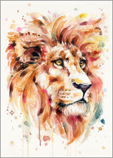 Gallery print  All Things Majestic (Lion) - Sillier Than Sally