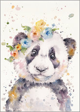 Gallery print  Little panda - Sillier Than Sally