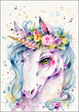 Gallery print  Little unicorn - Sillier Than Sally