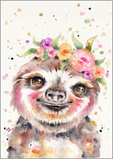 Gallery print  Little Sloth - Sillier Than Sally