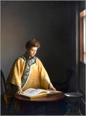 Wall sticker  The Yellow Jacket - William McGregor Paxton