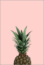 Wall sticker  Pineapple - Lemon Apes