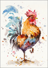 Wall Sticker  Roosters About - Sillier Than Sally