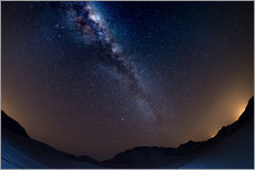 Gallery print  The Milky Way Galaxy from the Namib desert, Namibia - Fabio Lamanna