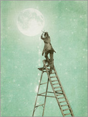 Wall sticker  Waning Moon - Eric Fan