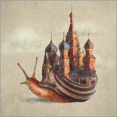 Gallery print  The Snail's Daydream - Eric Fan