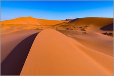 Wall sticker  Sand dunes and blue sky at Sossusvlei, Namib desert, Namibia - Fabio Lamanna