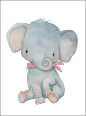 Wall sticker  My little elephant - Kidz Collection