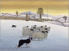 Gallery print  The Fells in Winter - Larry Smart
