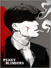 Gallery print  Peaky Blinders - Tommy Shelby (Art Print) - 2ToastDesign