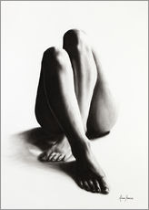 Gallery print  Nude study of the legs 42 - Ashvin Harrison