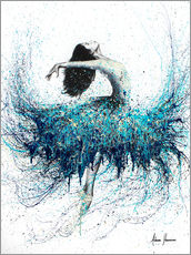 Gallery print  Opals and Waves Ballerina - Ashvin Harrison