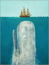 Gallery print  The whale - Terry Fan