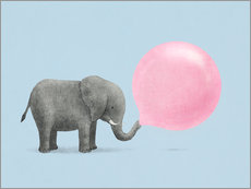 Gallery print  Jumbo bubblegum - Terry Fan