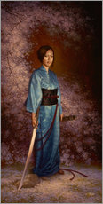 Gallery Print  The Blue Kimono - Christophe Vacher