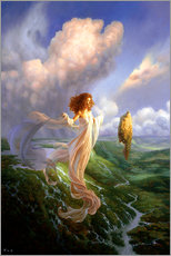 Wall Sticker  Mistress of the Wind - Christophe Vacher