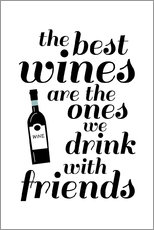 Gallery Print  the best wines - Ohkimiko