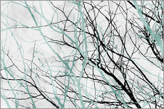 Wall sticker Pastel Branches 2