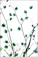 Wall Stickers  Pastel Leaves 5 - Mareike Böhmer Photography