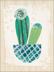 Gallery print  Cactus collage II - Melissa Averinos