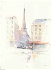 Gallery Print  Paris Morning - Avery Tillmon