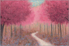 Gallery print  Forest path in spring - James Wiens