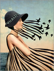 Wall sticker  Equality - Catrin Welz-Stein