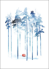Wall sticker  Sleeping in the woods - Robert Farkas
