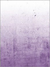Wall sticker  Violet ombre - Emanuela Carratoni