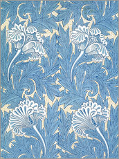 Wall Sticker  Tulips - William Morris