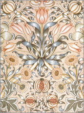 Gallery Print  Lily and Pomegranate - William Morris