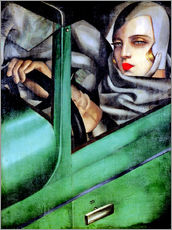 Wall Stickers  My Portrait - Tamara de Lempicka