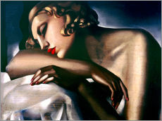 Wall sticker  The sleeper - Tamara de Lempicka