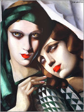 Gallery Print  The green turban - Tamara de Lempicka