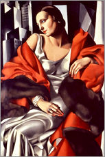 Wall Stickers  Portrait of Mrs Boucard - Tamara de Lempicka