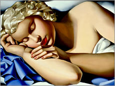 Wall Stickers  The Sleeping Girl (Kizette) - Tamara de Lempicka