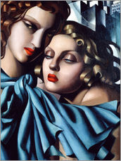 Wall sticker  The girls - Tamara de Lempicka