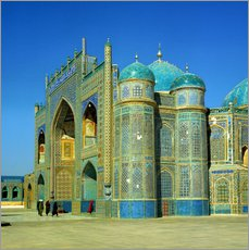 Gallery print  Ali mausoleum in Masar-e-Sharif - Ric Ergenbright