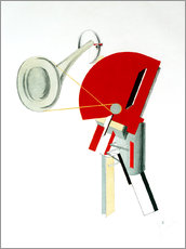 Gallery print  announcer - El Lissitzky