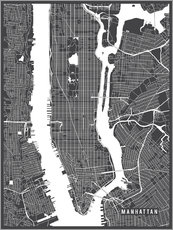 Main Street Maps - New York USA Map
