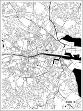 Main Street Maps - Dublin ireland Map