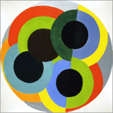 Foam board print  Disks - Robert Delaunay