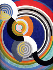 Foam board print  Rhythm No.2 - Robert Delaunay