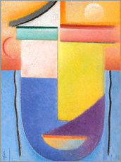 Gallery print  Abstract head - water and light - Alexej von Jawlensky