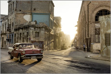 Gallery print  Vintage car on the streets of Havana - Novarc