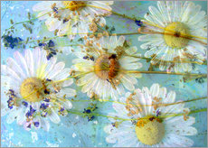 Wall sticker  Montage of morning flowers - Alaya Gadeh