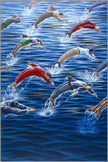 Gallery print  Human dolphins - ACE