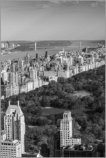 Gallery print  Central Park in black and white - Walter Bibikow