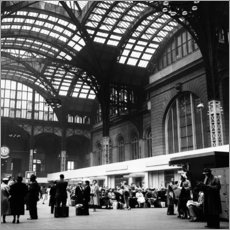Gallery Print  Penn Station, NYC, 1954 - Science Source