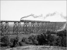 Gallery print  North Western Railway Viaduct at Des Moines River - Glasshouse